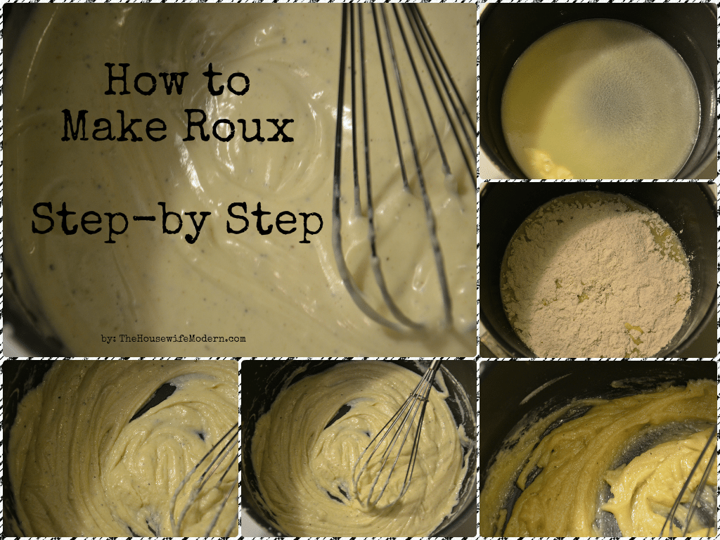 How to Make Roux: Step-by-step with pictures.
