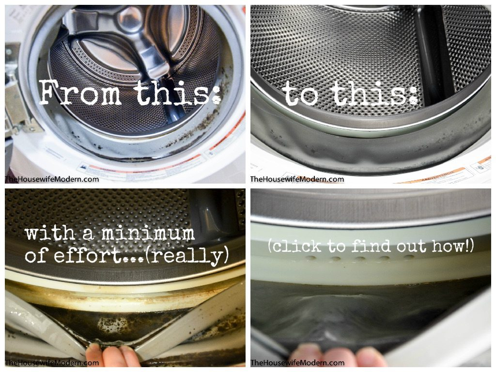 How to clean a front load washer: How to clean a front load washer with a minimum of effort