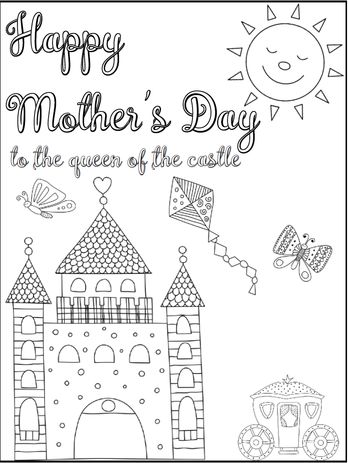 free printable mother 39 s day cards some of them you can color. Black Bedroom Furniture Sets. Home Design Ideas