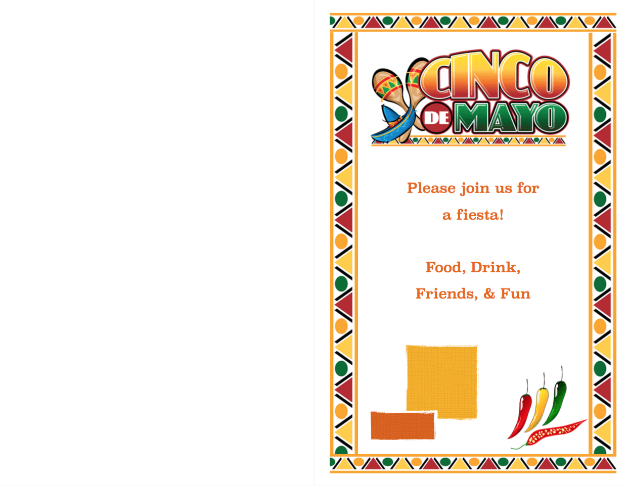 free printable cinco de mayo invitations 2 different designs the