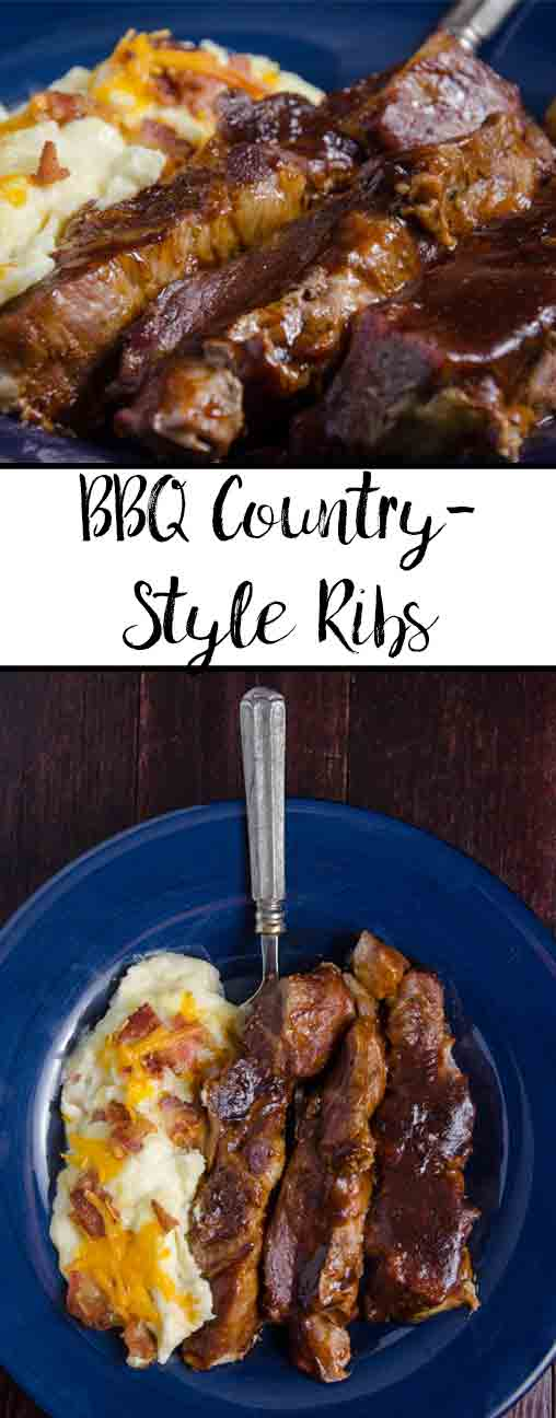 Easy, Fall Off the Bone, Country-Style BBQ Ribs. Simple to make, back-to-the-country, barbecue ribs. Doesn't require a grill.