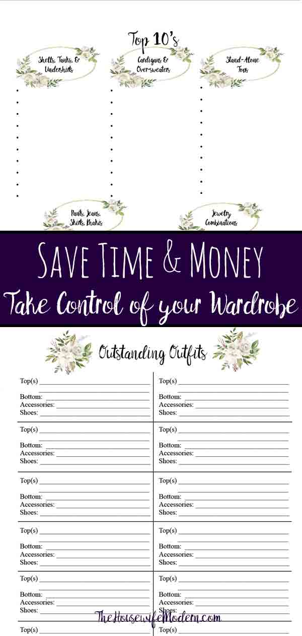 How to save time & money: take back control of your wardrobe. Invest 4 hours now...solve your wardrobe problems forever. Save money over the next year by following the rules you already learned. & Never worry about what outfits to take on vacation again.