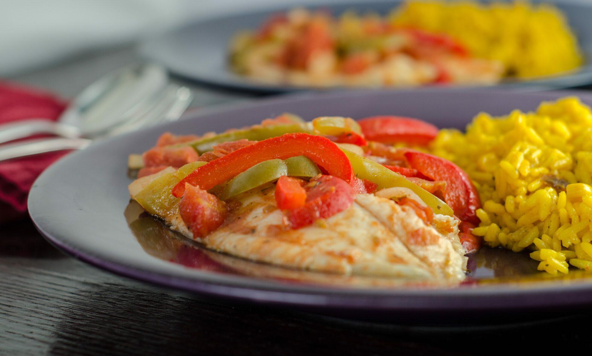Baked tilapia veracruz healthy easy delicious for Fish veracruz recipe