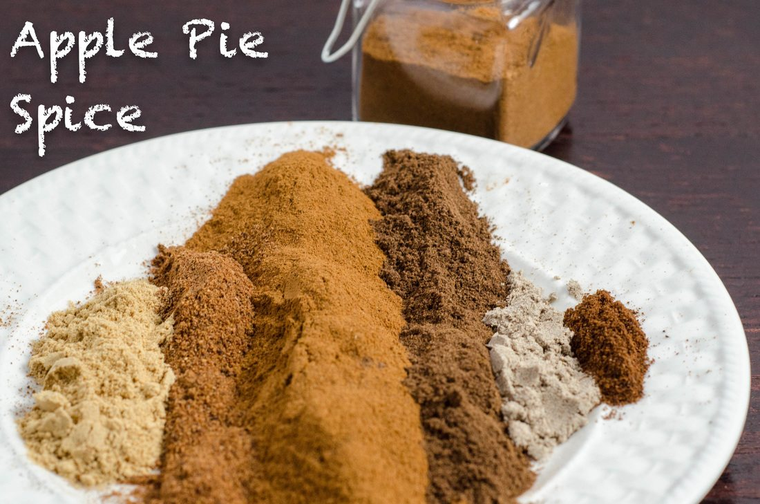 Homemade Apple Pie Spice blend...make at home, cheap and easy. Plus ideas where to use apple pie spice (besides in apple pie, obviously).