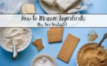 How to measure ingredients accurately: everything you need to know. Are dry and wet ingredients measured the same? Is flour supposed to be packed or sifted? Are you supposed to weigh flour? Plus free printable.