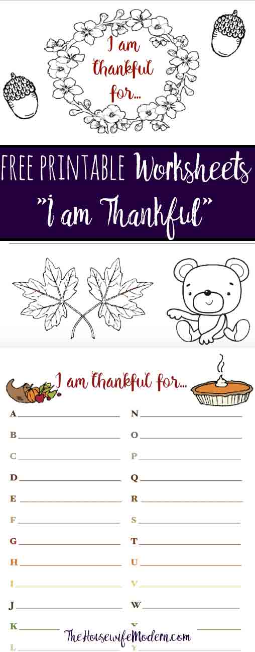 Printable Worksheets thanksgiving free printable worksheets : Free Printable