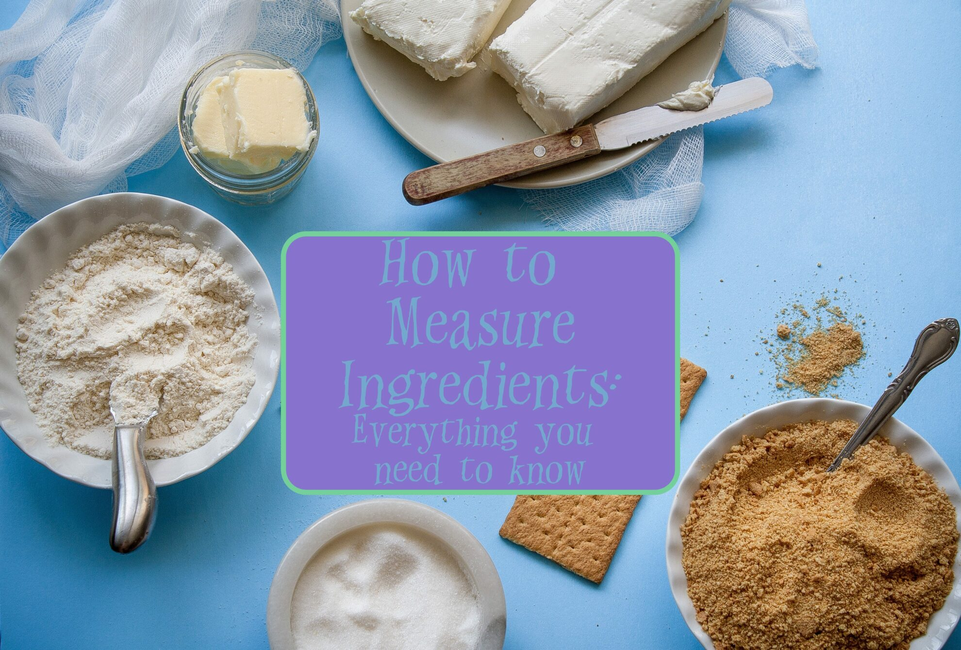 How to measure ingredients accurately: everything you need to know. Are dry and wet ingredients measured the same? Is flour supposed to be packed or sifted? Are you supposed to weigh flour? Plus link to 2 free printables for cooking & measurements.