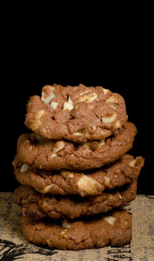 Perfect Black and White Chocolate Chunk Cookies