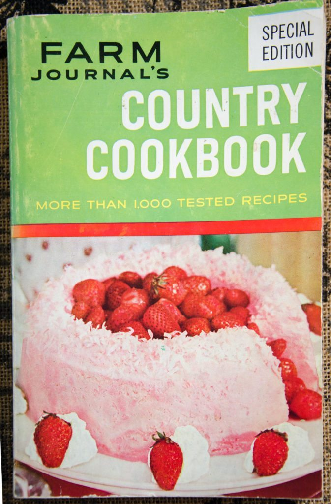 Country Cookbook Cover : Insane vintage recipe roast raccoon aka trash panda