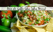 Homemade Pico de Gallo Recipe (aka Salsa Fresca). Fabulous, versatile combination of garden-fresh vegetables. Eat with chips, on salad, tacos, & more.