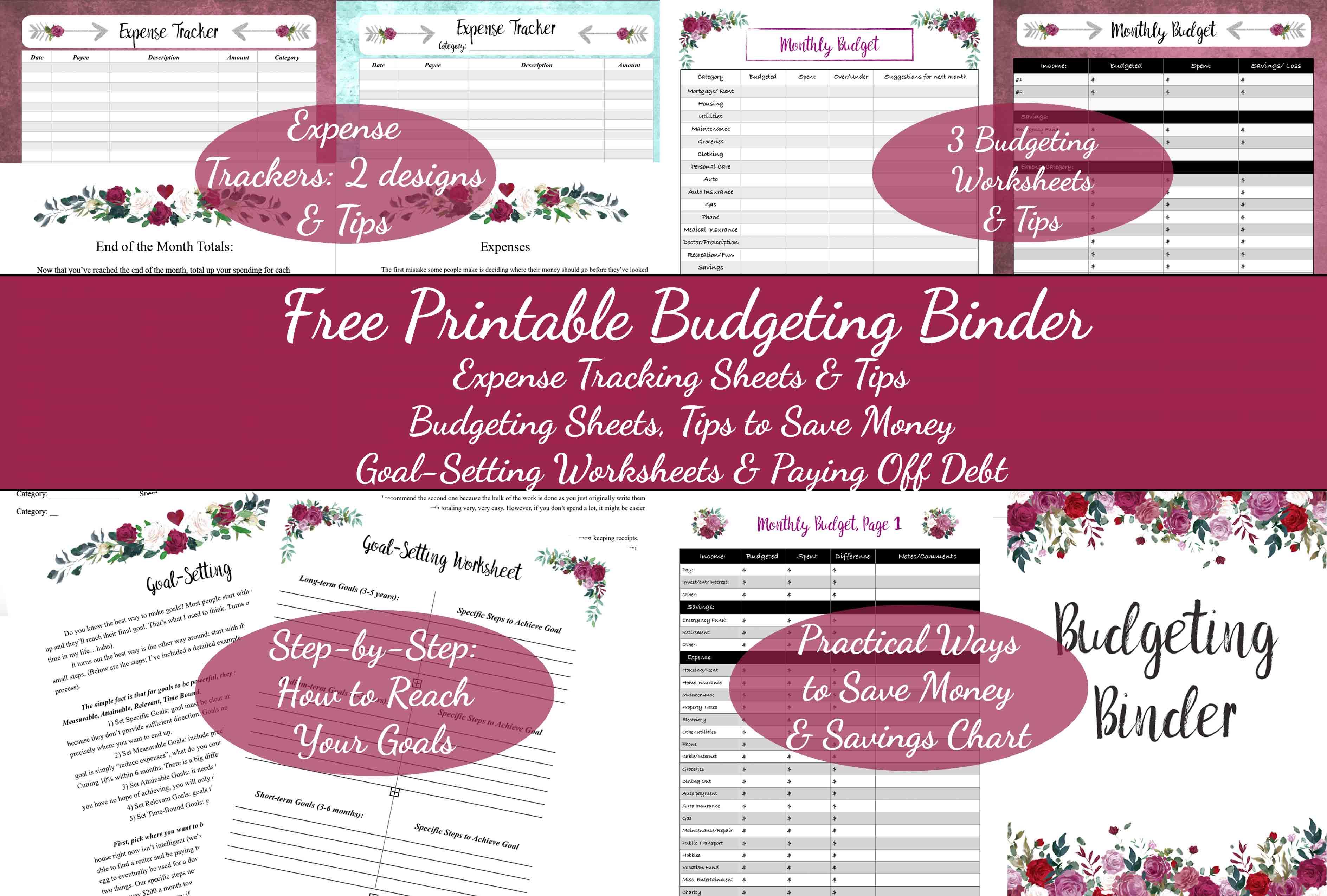 Free Printable Budget Idas Ponderresearch Co