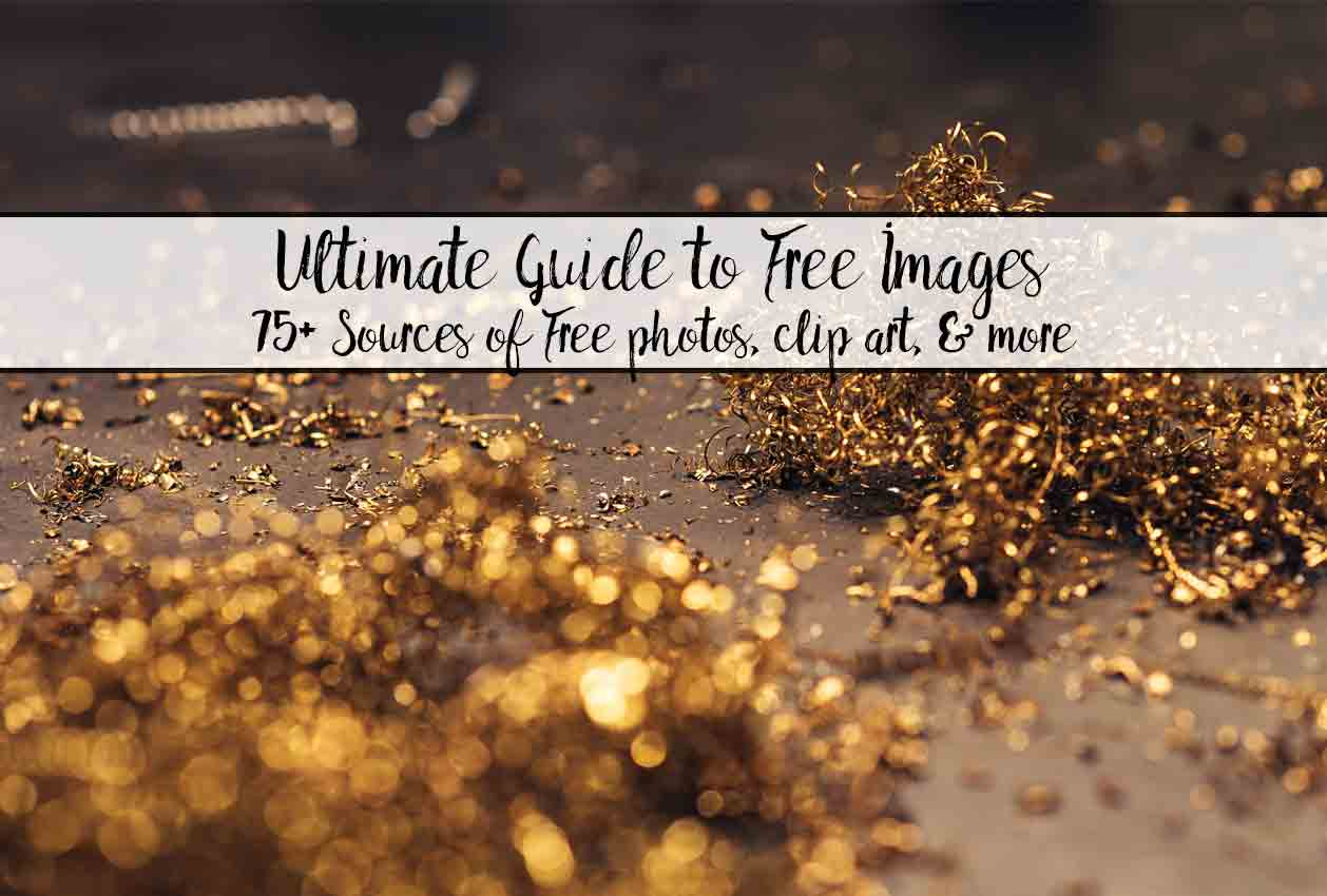 Ultimate resource list of where to find free images, free photos, free clip-art, free patterns, and more. And information about licensing and what you need to know (in plain English).