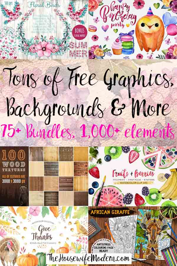 Where to Find Graphic Designs (Including 1,000s of Free Graphics). Wondering where to find graphics for your printables, website, or products? Graphic designs resource list, including a ton of free graphics.