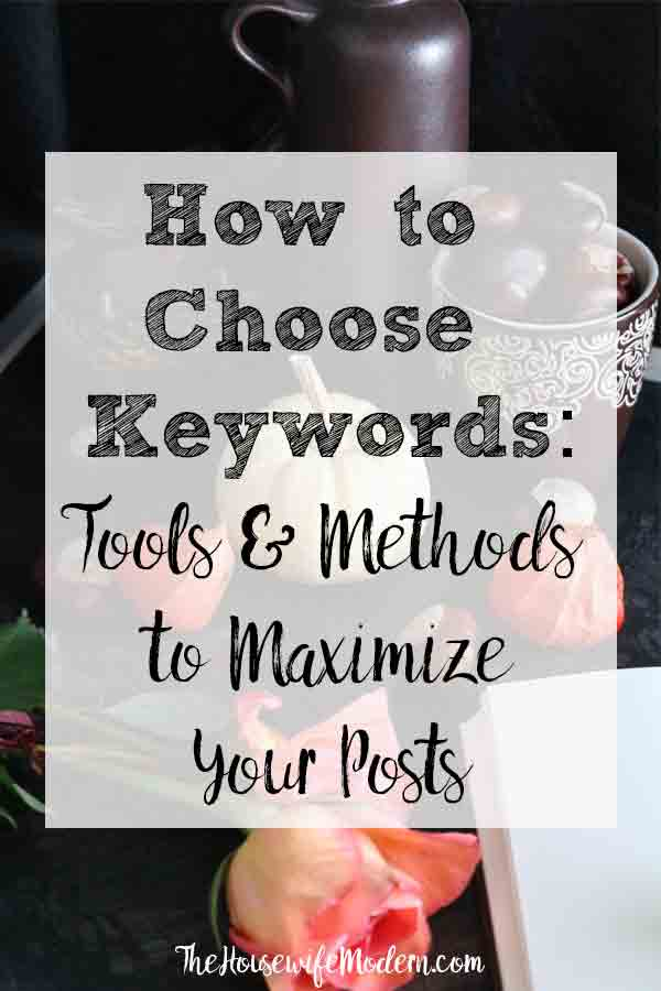 How Do I Find the Best Keywords for a Blog Post? A step-by-step guide on exactly how to find and choose both basic and long-tail keywords for a blog post. #keywords #seo #keywordtools #blog #blogging