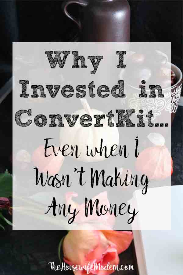 Why I Invested in ConvertKit, Even When I Wasn't Making Money. The reasons and features for why I switched. Plus reasons why you may not want to switch. Mailchimp to ConvertKit. #blog #blogging #convertkit #emailmarketing #mailchimp