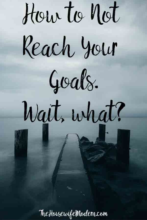 Why Goal-Setting (Sometimes) Doesn't Work and How to Make It Work. Step-by-step instructions on how to make goal-setting work for you.Goal setting worksheet included. #goal #goals #goalsetting #free #printable #goalsettingworksheet