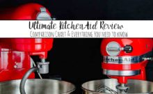 The Ultimate KitchenAid Mixer Review: Comparison Chart & Everything You Need to Know. Is a KitchenAid mixer really worth it? What you need to know before you buy