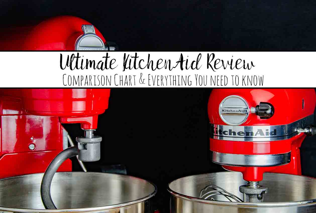 The Ultimate Kitchenaid Mixer Review Comparison Chart Everything You Need To Know