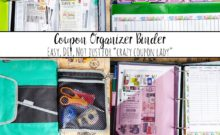 How to Make a Coupon Organizer Binder: Couponing Like a Normal Person. DIY, instructions and pictures of exactly what you need in a coupon organizer binder.