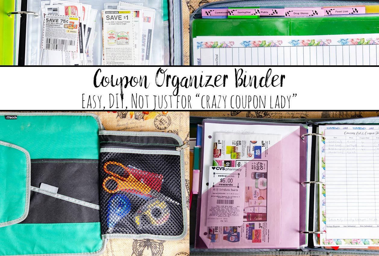 how to make a coupon organizer binder couponing like a normal person