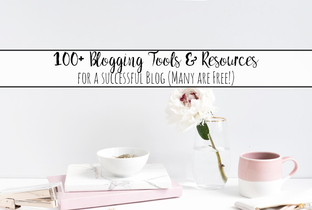 100+ Tools and Resources to Help You Become a Successful Blogger. Starting a blog, marketing, where to find free images, organizational tools, free plug-ins, and more!