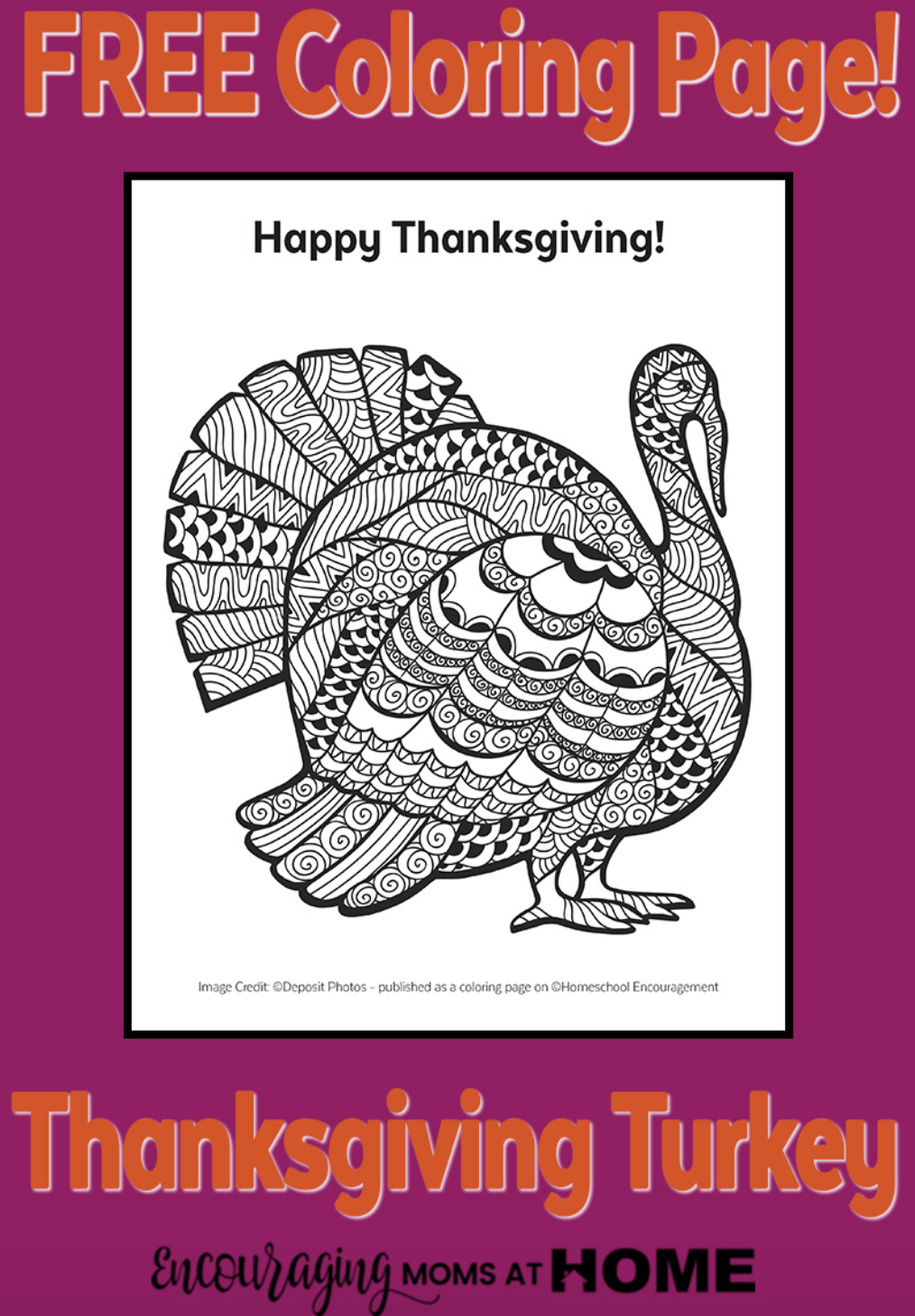 Thanksgiving Coloring Page. Part of Free Thanksgiving Printables Round-Up. Over 50 free Thanksgiving printables including decor, planners, labels, food decoration, and more! #thanksgiving #free #printable #freeprintable #thanksgivingprintable