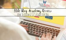 Elite Blog Academy review. How to know if it's right for you. Real results reported. Pros and cons. Decide whether it's worth the investment.