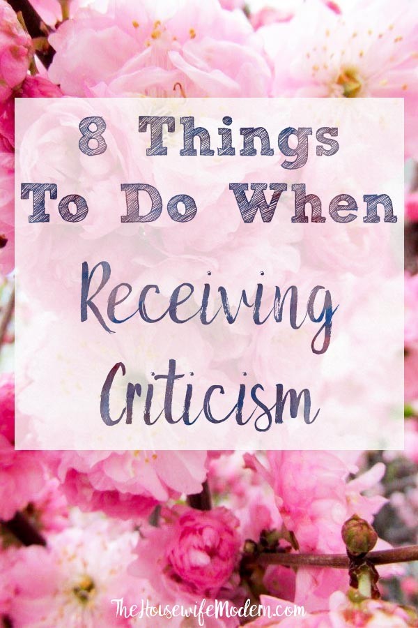 How to Completely Change How You View Criticism. Constructive criticism and action steps you should take to improve yourself. #criticism #constructivecriticism #betterself