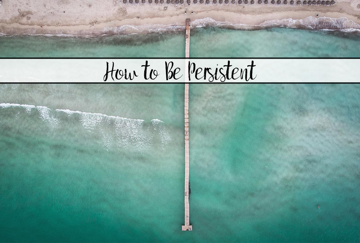 What Everyone Ought to Know About Success. 10 Steps to Be More Persistent. Action steps you can take to reach your goals and be successful.