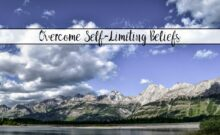 Self-Limiting Beliefs and How to Overcome Them. Includes a free printable worksheet to help you overcome your own self-limiting beliefs.
