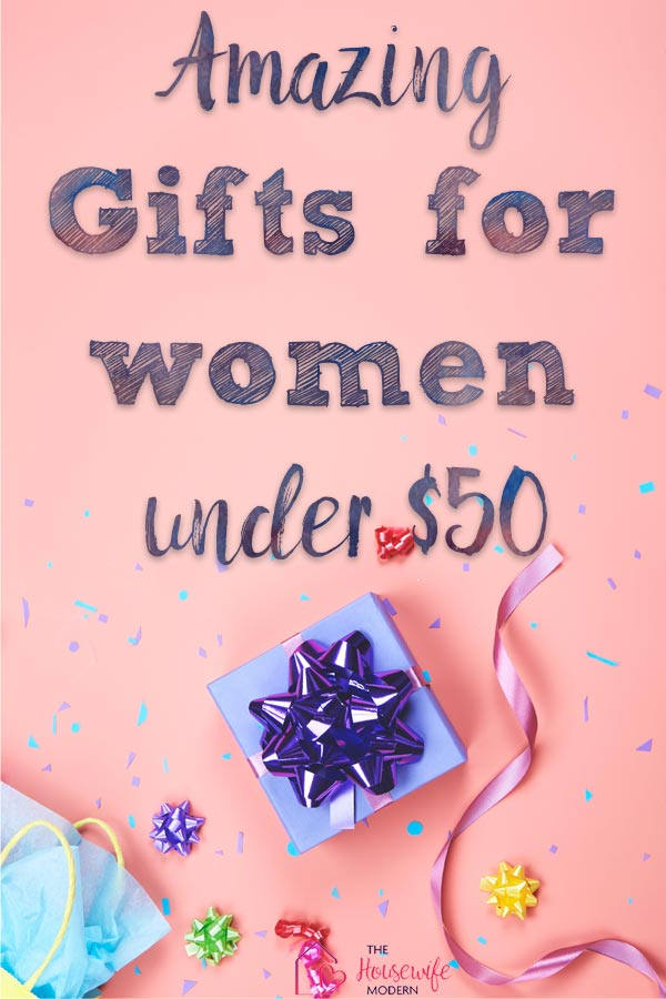Pin image for featured gifts for women under $50